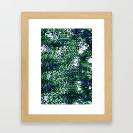 FLORAL INTERCHANGE Framed Art Print