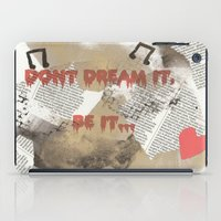 rocky horror picture show iPad Cases featuring Rocky Horror - Don't Dream It... by Mel (life_like_disney)