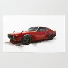 Nissan skyline 70, 1970 Rug