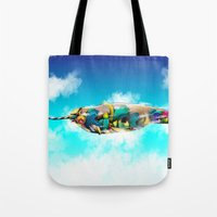 narwhal Tote Bags featuring Narwhal by Sircasm
