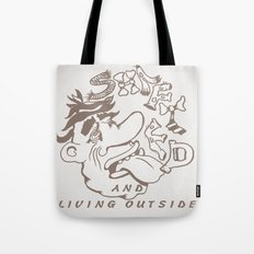 Shafted and Living Outside Tote Bag