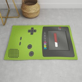 Gameboy Color (green) Rug