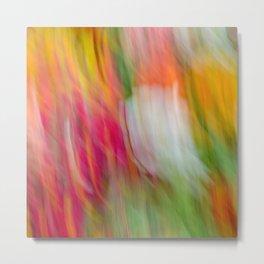 Colorful Strokes Metal Print