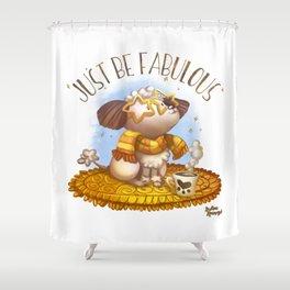 Jut Be Fabulous Shower Curtain