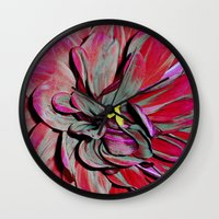 gothic Wall Clocks featuring Gothic by Stephen Linhart