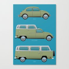 Beetle Camper Canvas Print