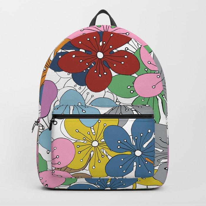 Cherry Blossom Colour - In Memory of Mackenzie Backpack