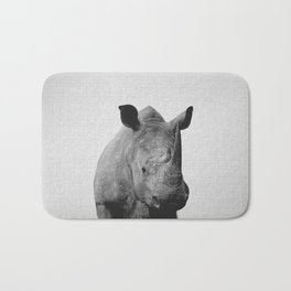Rhino - Black & White Bath Mat