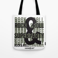 Rock and Roll Superparty Tote Bag