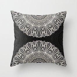 Mandala Mehndi Style G384 Throw Pillow