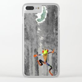 Forest of Giants Clear iPhone Case