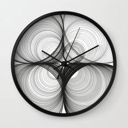 Paths dû aux circles Wall Clock