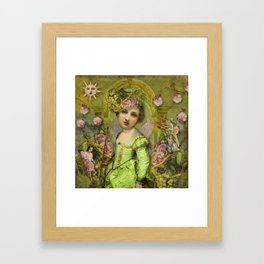 Garden Delight Framed Art Print