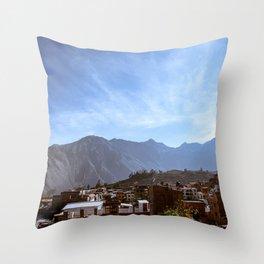 Canyon Village Throw Pillow