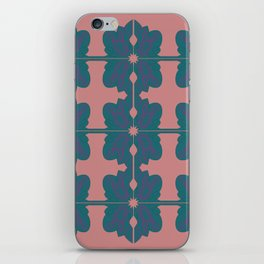 Luxury vint. mandalas BLUE PINK iPhone Skin
