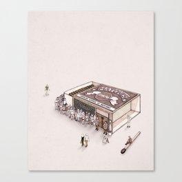 Matchbox Club Canvas Print