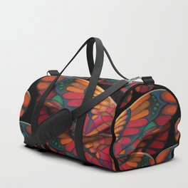 """A thousand colors of butterfly wings"" Duffle Bag"