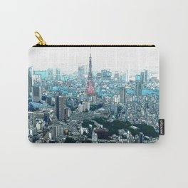 My Love - Tokyo Tower Skyline Carry-All Pouch