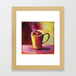 Coffee Cup Study No. 1 Framed Art Print