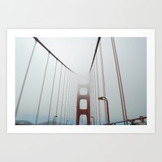 San Francisco Fog Art Print