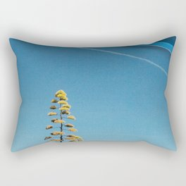 Drawing in The Sky Rectangular Pillow