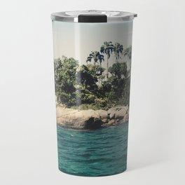 Lost Paradise Off the Coast of Ilha Grande, Brazil Travel Mug
