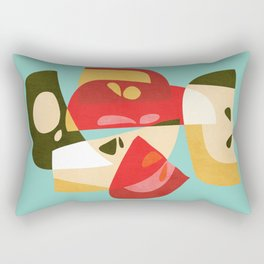 Apple Slices Rectangular Pillow