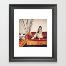 Hattie Couch Framed Art Print
