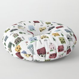 Collingwood Houses Floor Pillow