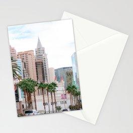 The Strip | New York New York hotel & casino | Excalibur | Las Vegas, Nevada | USA travel photography Stationery Cards