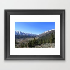Sonora Pass Framed Art Print