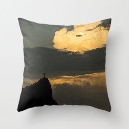 Rio's Clouds Throw Pillow