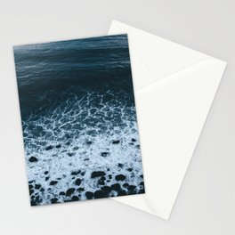 Iceland waves and shapes - Landscape Photography Stationery Cards