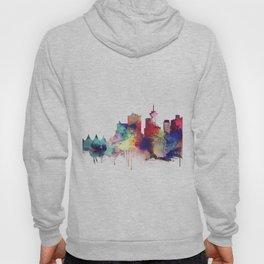 Vancouver Watercolor Skyline Hoody
