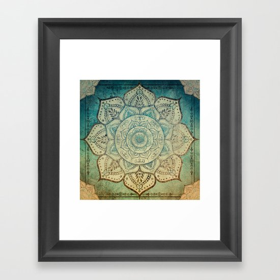 Faded Bohemian Mandala by inspiredimages