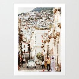 Taxco Art Print