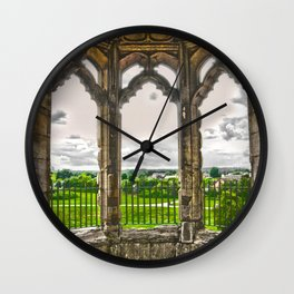 Looking through the window Wall Clock