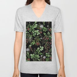 mid winter berries Unisex V-Neck