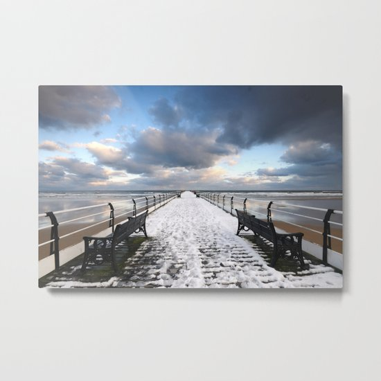 Saltburn by the Sea Metal Print