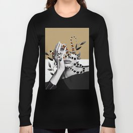 Woman and snakes Long Sleeve T-shirt