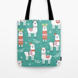 Fa-La-La-Llama Tote Bag