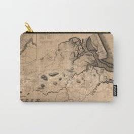 Map of Ipswich 1832 Carry-All Pouch