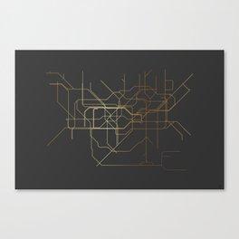London Subway Canvas Print