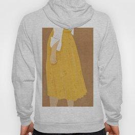 Girl With The Yellow Skirt Hoody