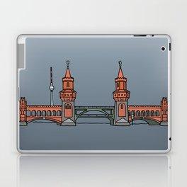 Oberbaum Bridge in Berlin Laptop & iPad Skin