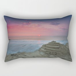Slow Water at Sunrise Rectangular Pillow