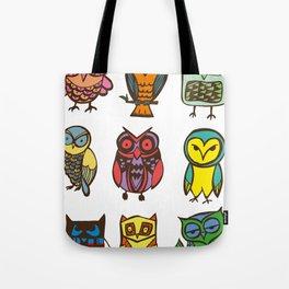 Owlies Tote Bag