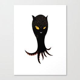 Jaguar Squid Canvas Print