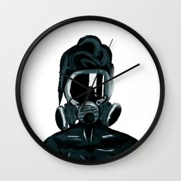 """ THAT TOO MUCH JUICE "" black/white Wall Clock"