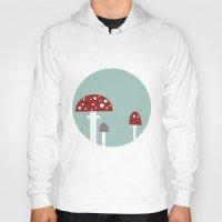 mushrooms Hoodies featuring mushrooms by liva cabule
